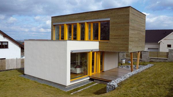 Nízkoenergetické dřevostavby