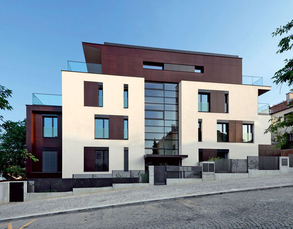 Nízkoenergetický bytový dům - vila Augustus