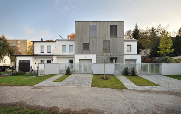 Nízkoenergetický rodinný dům na Praze 6