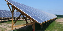 Nová fotovoltaická elektrárna v Hodonicích