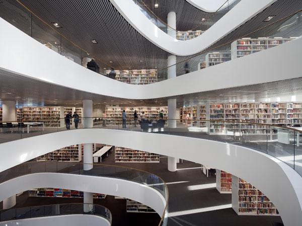 Nová univerzitní knihovna v Aberdeenu