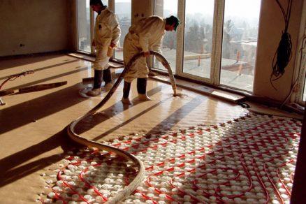 Nové technologie pro podlahové vytápění