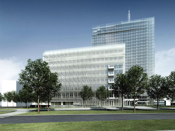 Nový projekt zelené kancelářské budovy v centru Prahy