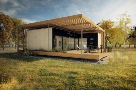 O solární dům studentů mají zájem developeři