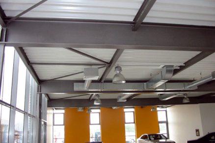 Ocel ve stropních systémech vícepodlažních budov