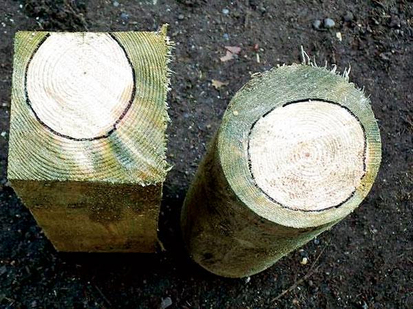 Ochrana dřeva kvalitní impregnací
