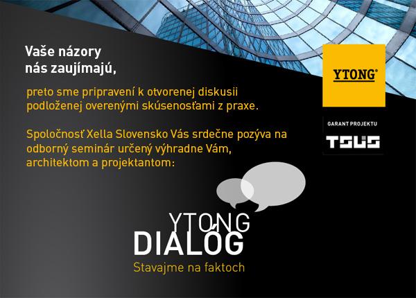 Odborný seminář Ytong Dialog