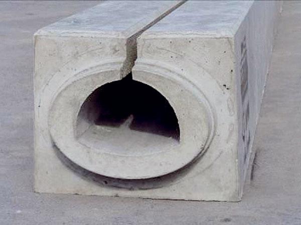 Odvodnění zpevněných pojížděných ploch tunelových staveb