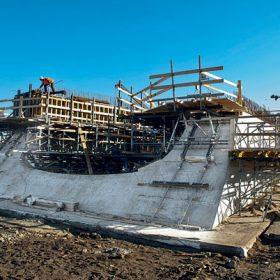 Ohlédnutí za betonáží Trojského mostu