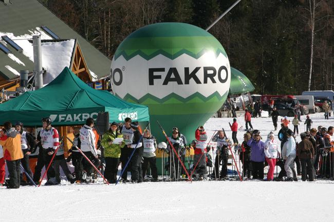 Olympiáda zimních sportů FAKRO pro pokrývače