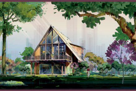 Omalovánky nejen pro architekty