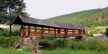 Opravy dřevěných krytých mostů alávek