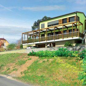 Pasivní dům na jižním svahu