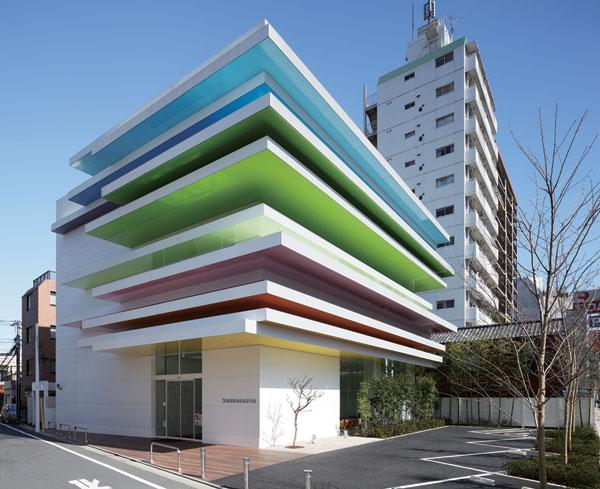 Pestrobarevná tokijská banka