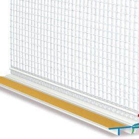 Plastové lišty s využitím při zateplení fasád