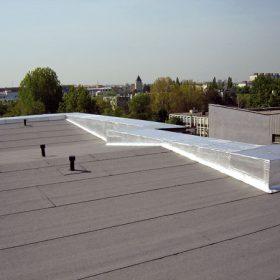 Ploché střechy se spádovou vrstvou z tepelné izolace