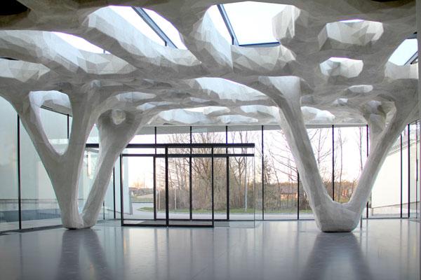 Pod betonovými stromy