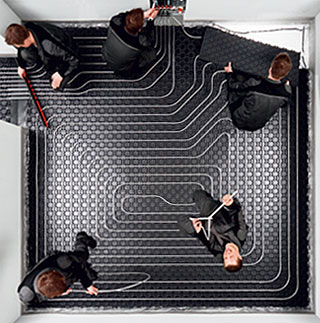 Podlahové vytápění – postřehy z praxe