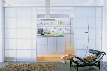 Pohyblivé dělicí prvky v bytovém interiéru