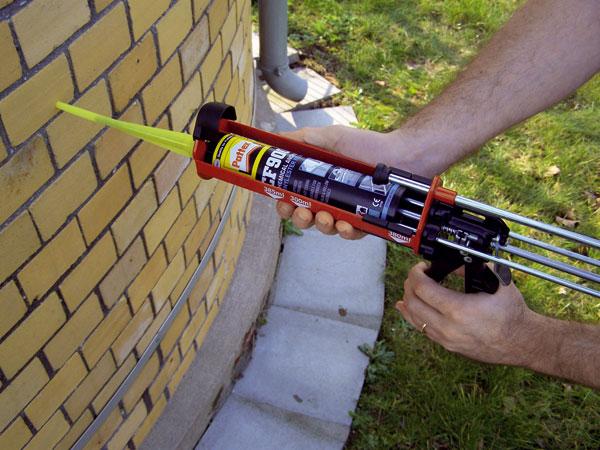 Použití chemických kotev ve stavebnictví