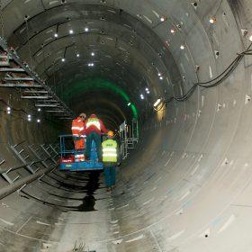Použití kontinuálního monitoringu na stavbě metra V. A v Praze