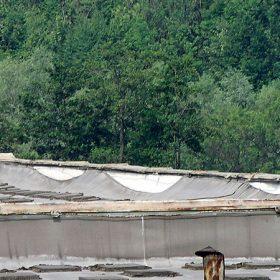 Povlakové krytiny plochých střech a jejich problémy