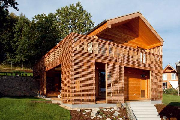 Povodně arůzné technologie stavění - dřevostavby