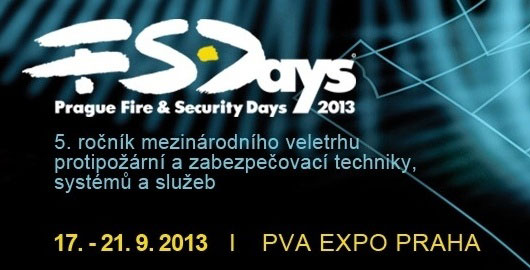 PRAGUE FIRE & SECURITY DAYS 2013