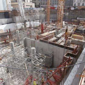 Pražské Quadrio v hloubce 24 metrů