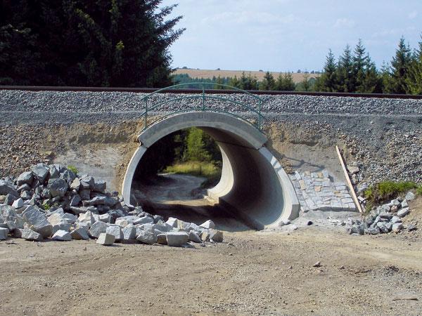 Prefabrikované přesýpané mosty ze systému MATIÈRE® vČeské republice