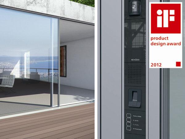 Prestižní ocenění iF product design award 2012 pro tři produkty firmy Schüco