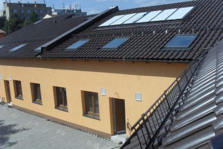 Při stavbě pasivního bytového domu v Modřicích se uplatnil systém KMB SENDWIX