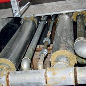 Problémy pozinkovaného ocelového potrubí