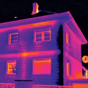 Profesionální termografie budov