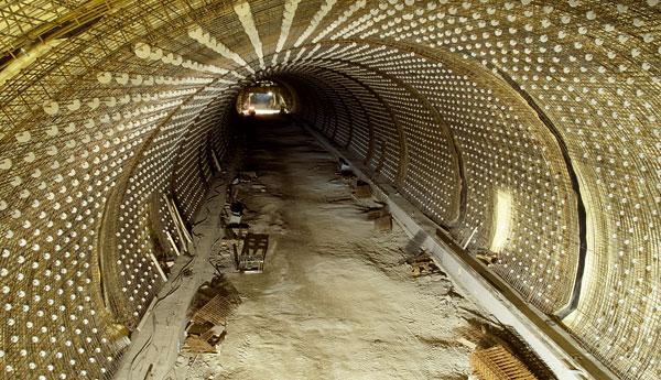Projekt aprovádění definitivního ostění tunelů SOKP 513