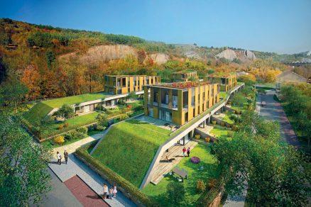 Projekt bytových domů Trilobit