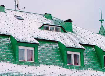 Protisněhová ochrana střech