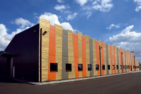 Průmyslová dřevostavba