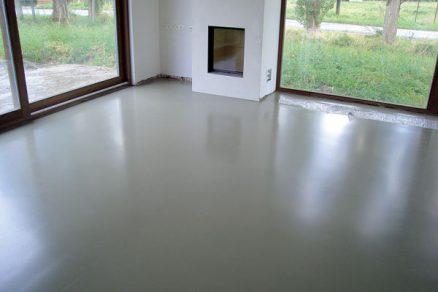 Průmyslové lité podlahy
