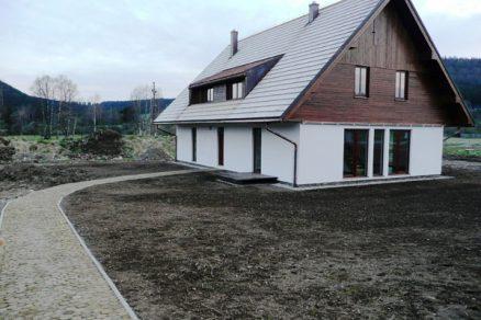 První nízkoenergetické domy v obytném souboru Borová Lada zkolaudovány