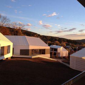 Rakouský architekt vsadil na dřevostavbu s materiály fermacell