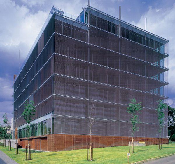 Rastrové a modulové fasády