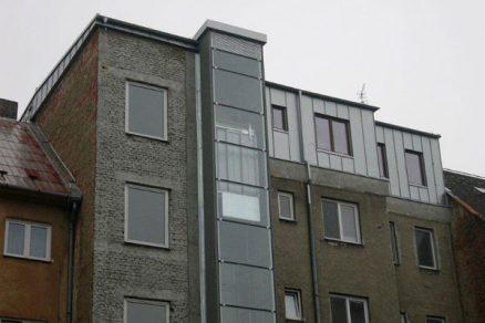 Realizace nástavby v Olomouci
