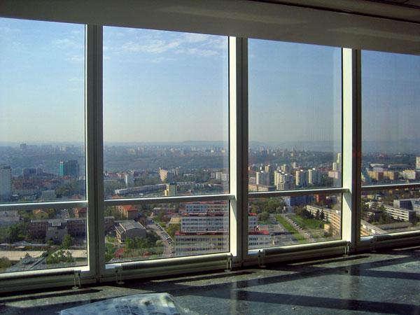 Realizace opláštění vrámci rekonstrukce administrativní budovy City Tower