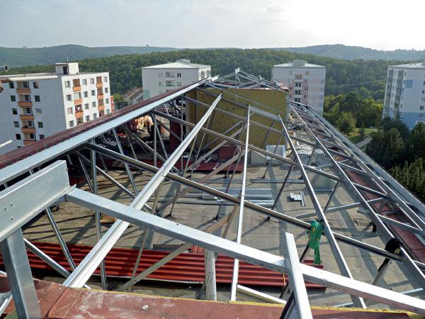 Realizace rekonstrukce panelových domů v Brně-Bystrci