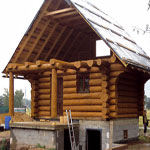 Realizace srubových staveb – kanadských srubů