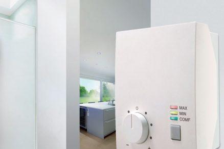 Regulace větrání podle kvality vnitřního vzduchu