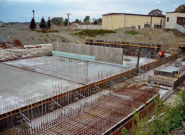 Rekonstrukce a dostavba dešťové zdrže ČOV Karviná