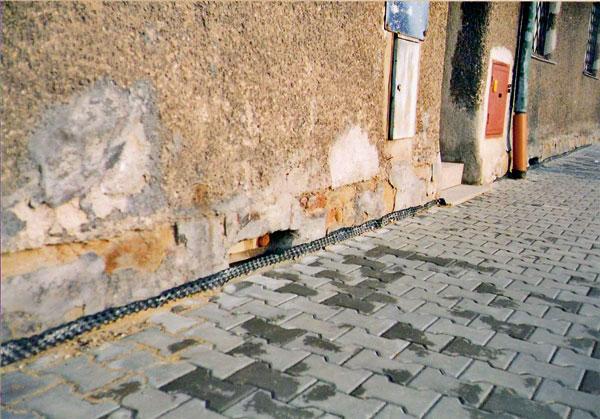 Rekonstrukce asanace hydroizolace spodní stavby