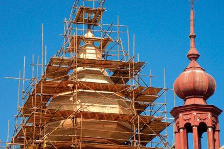 Rekonstrukce dřevěných krovů historických objektů